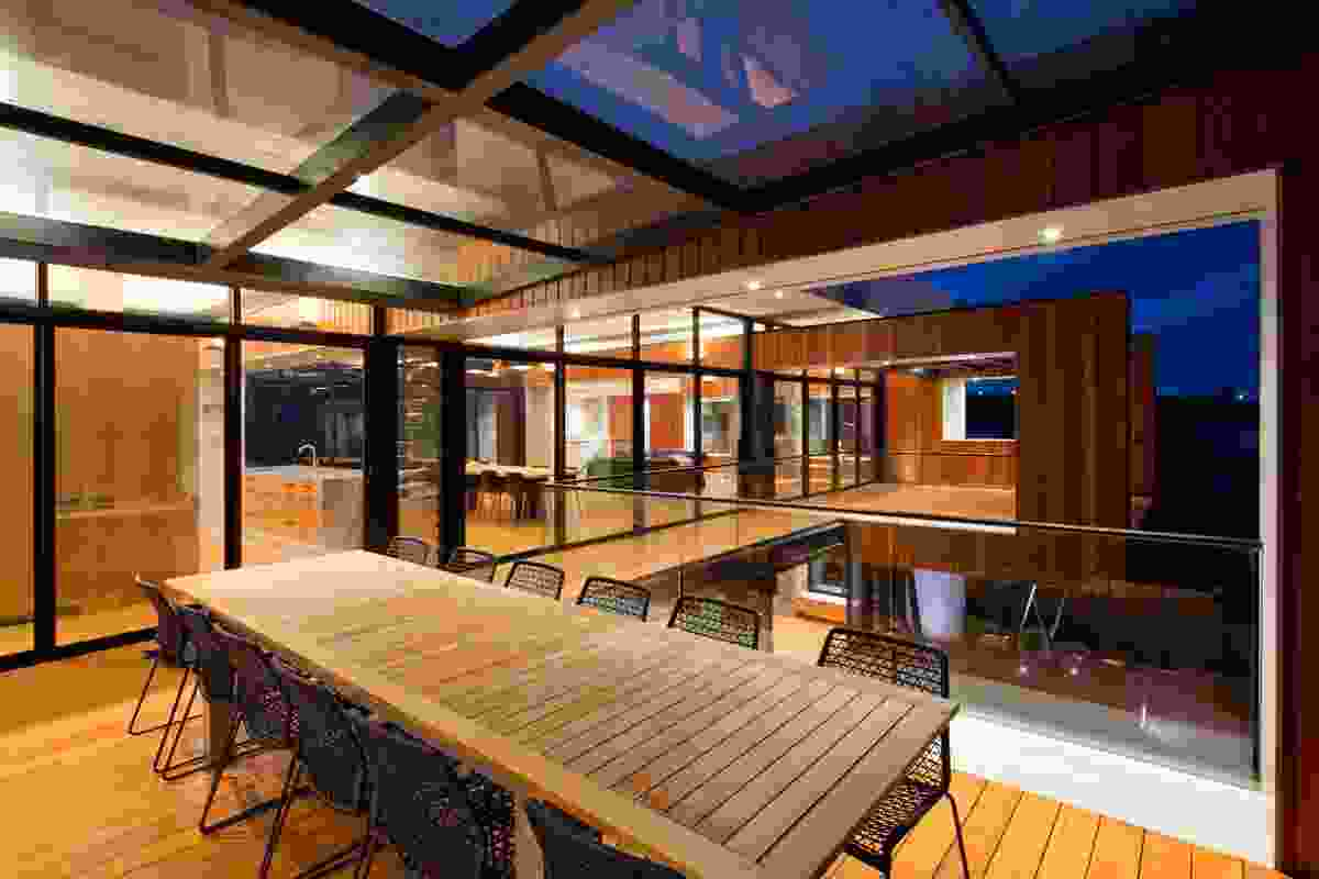 Cedar House by Craig Steere Architects.