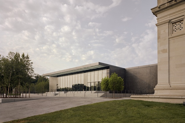 Saint Louis Art Museum by David Chipperfield Architects with SJB Architects.