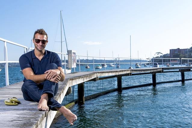 Ian Thorpe at Murray Rose Pool, Sydney, NSW, 2015.