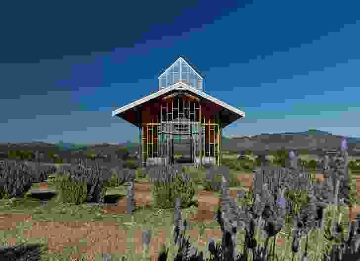 Kooroomba Chapel by Wilson Architects.