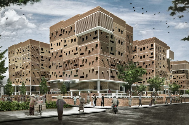 Muara Angke Social Housing by SHAU.
