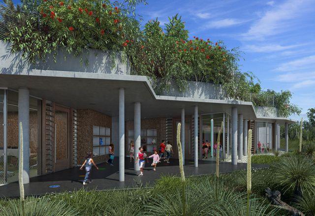 Rio Tinto Naturescape environmental awareness centre, Kings Park, by Donaldson + Warn.