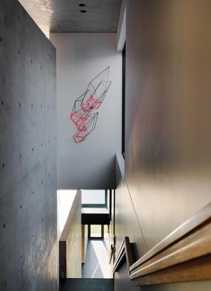Hallway artwork: Dion Horstmans.