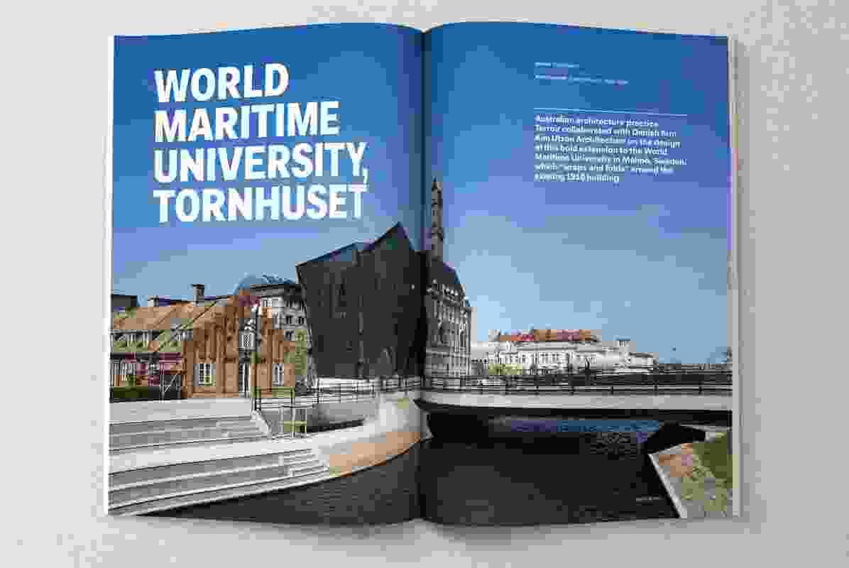 World Maritime University, Tornhuset, designed by Terroir and Kim Utzon Architecture.