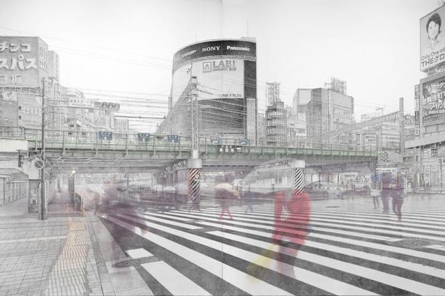 Yamagami Yukihiro's <i>Shinjuku calling</i> 2014.