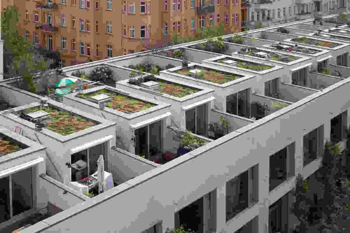 Ze05 Baugruppe housing project by Zanderroth Architeken.