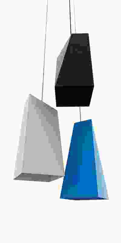 Facet pendant light.
