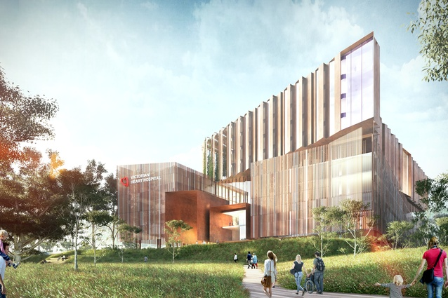 Victorian Heart Hospital by Conrad Gargett and John Wardle Architects, in joint venture.