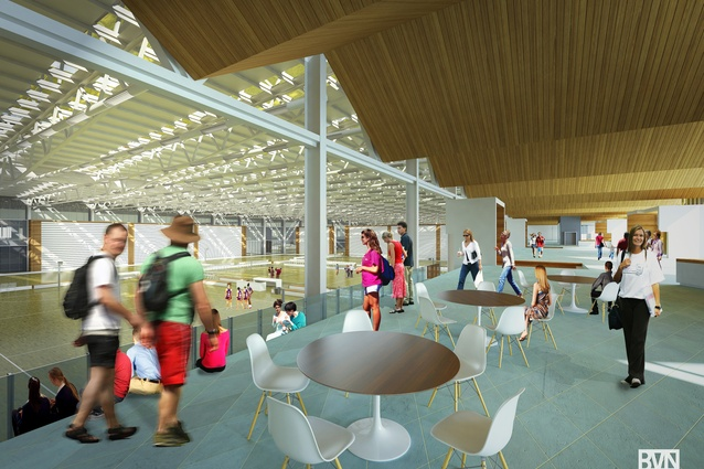 Queensland State Netball Centre by BVN.