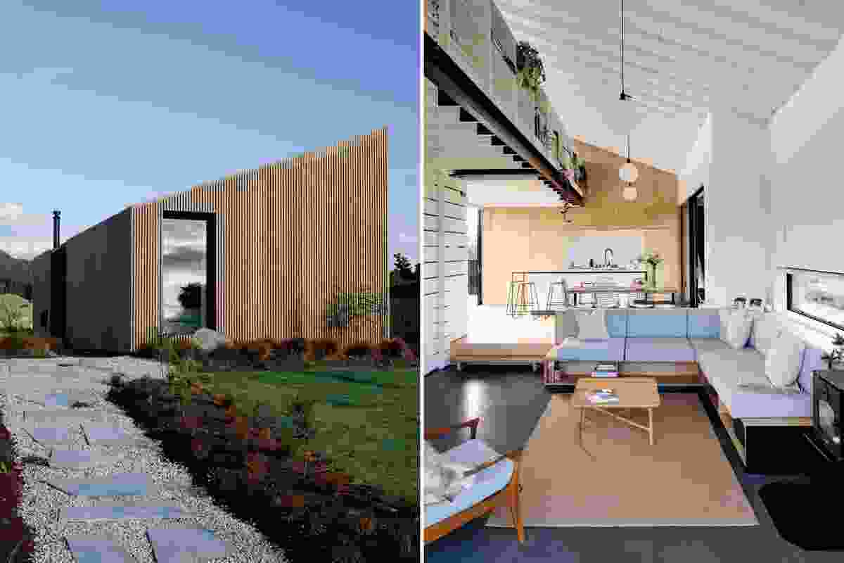 Winner: Small Project Architecture category – River Retreat by Edwards White Architects.