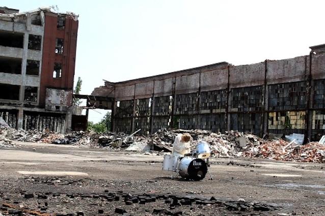 Scene from <em>White Drummer Detroit.</em>