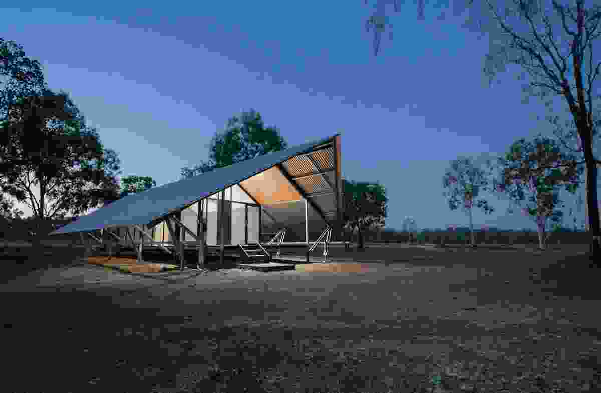 Fish River Ranger Accommodation by Design Construct, School of Art, Architecture and Design, University of South Australia.