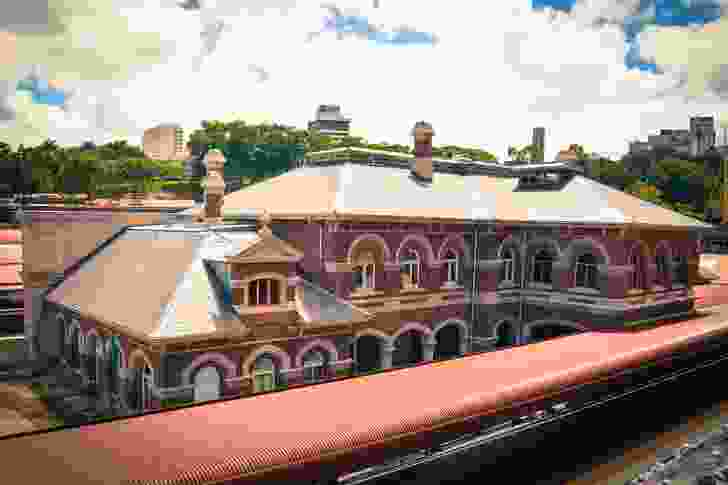 Roma Street Station Heritage Building, Brisbane, by Francis Drummond Greville (FDG) Stanley (1875).