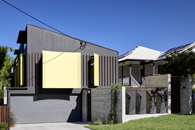 Tarragindi Steel House by Bligh Graham Architects.