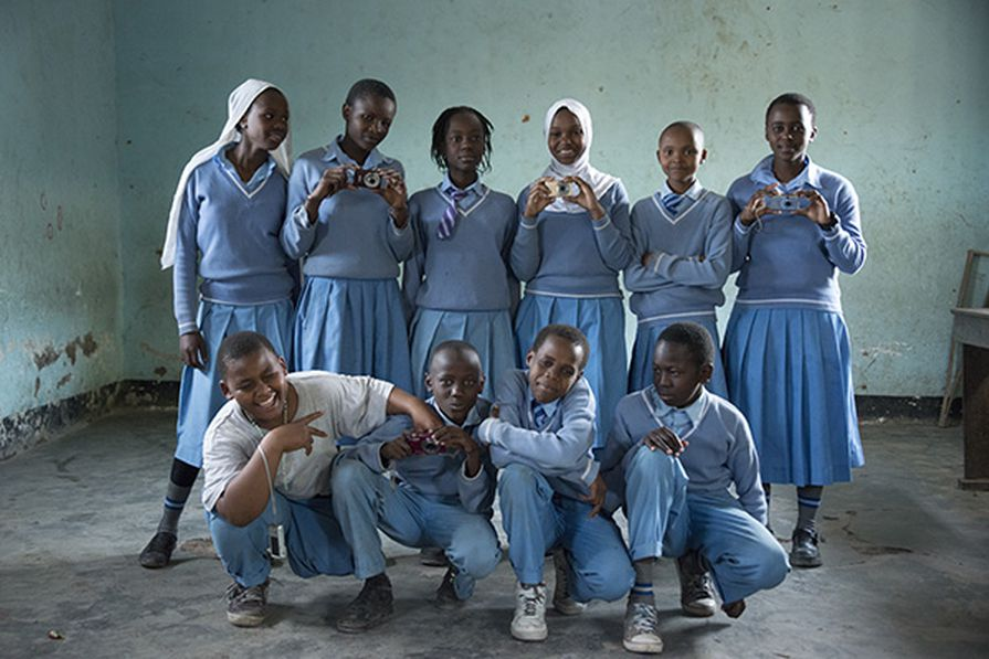 On a recent trip to Tanzania, Dianna Snape found that children couldn't concentrate due to hunger.