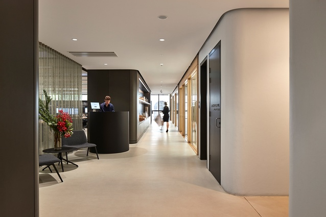 Grimshaw Architects Office Fitout by Grimshaw.