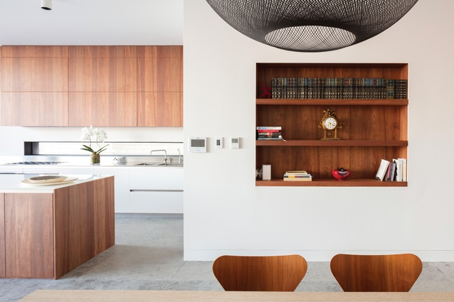 A restrained material palette complements the clever spatial planning of North Bondi House.