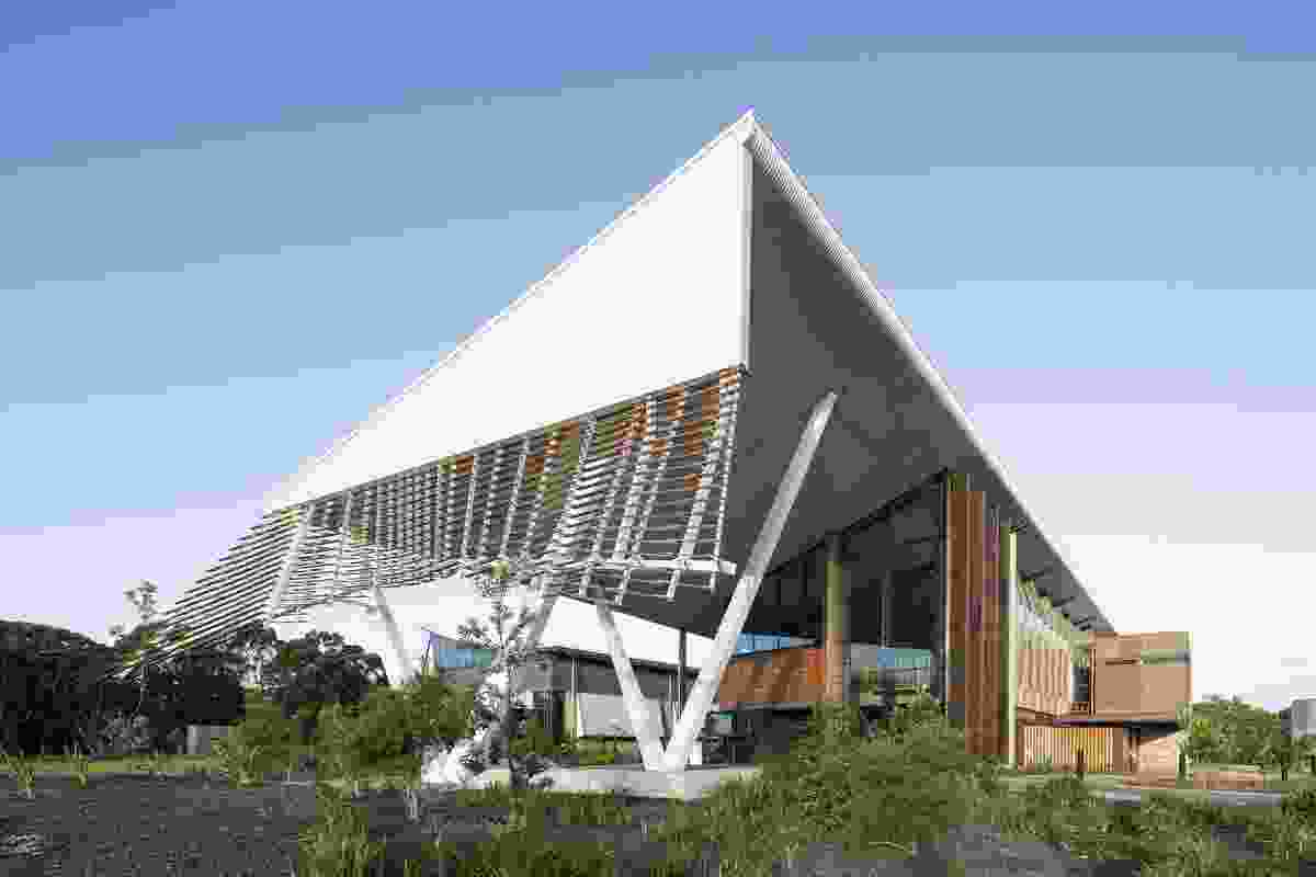 Sustainable Buildings Research Centre (SBRC) – University of Wollongong (NSW) by Cox Richardson.
