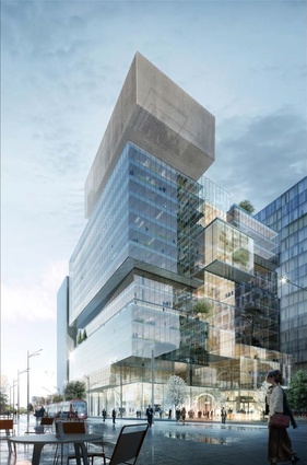 Johnson Pilton Walker's competition-winning design for 3 Parramatta Square.