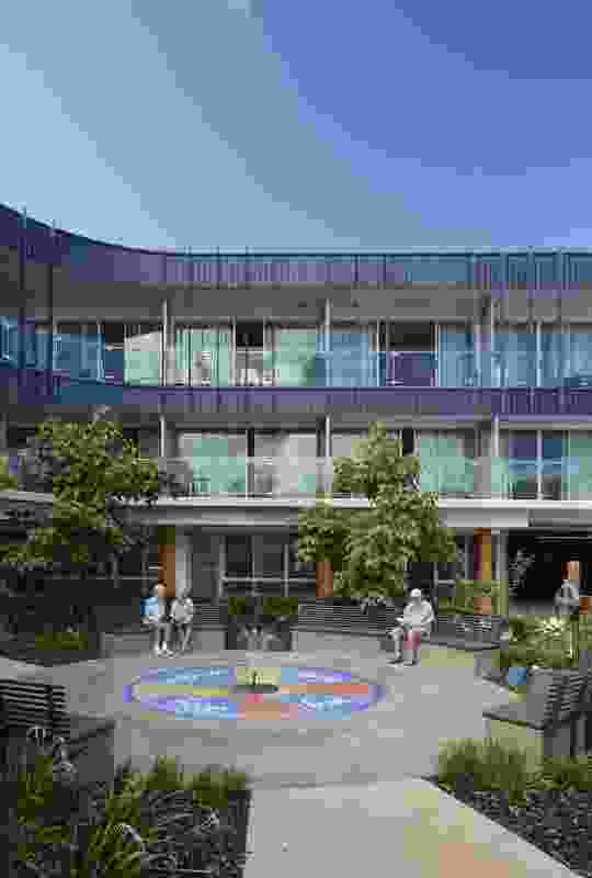 St Pauls Residential Aged Care in Brisbane by Thomson Adsett.