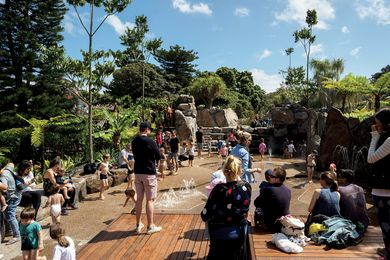 Ian Potter Children's Wild Play Garden by Aspect Studios.