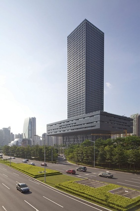The Shenzhen Stock Exchange.