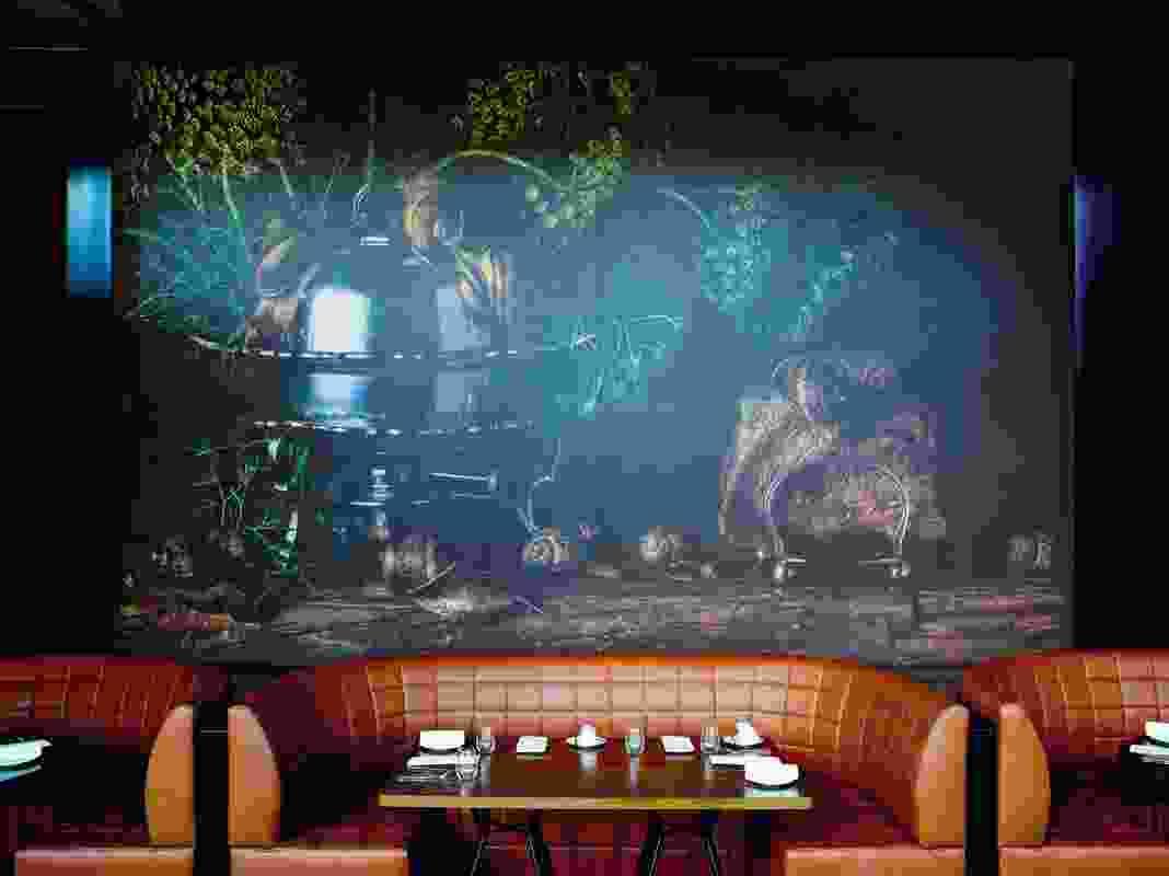 Best Restaurant Design: Dinner by Heston Blumenthal by Bates Smart.