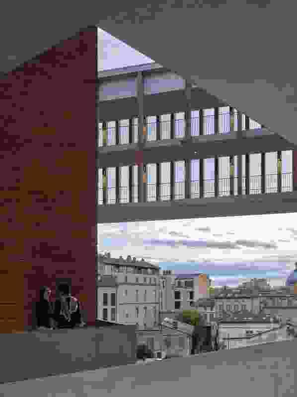 Université Toulouse 1 Capitole, School of Economics by Grafton Architects.