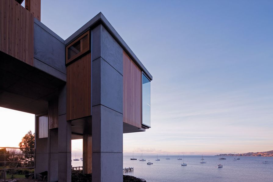 """The """"gem"""" of the house is a small box containing a private office."""