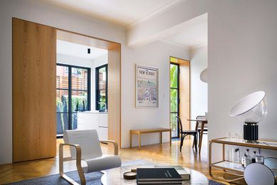 At Courtyard Apartment, BMA has turned a dark dwelling into a free-flowing series of airy spaces.