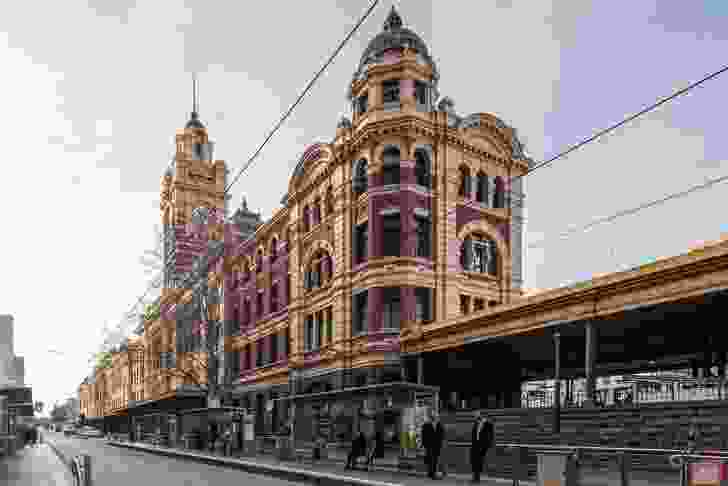 Flinders Street Station External Works by Lovell Chen.