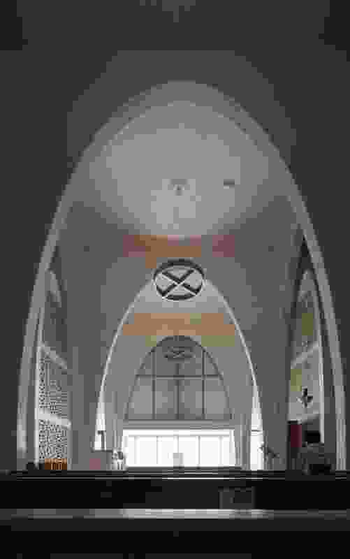 The chapel's design has an emphasis on light and air.