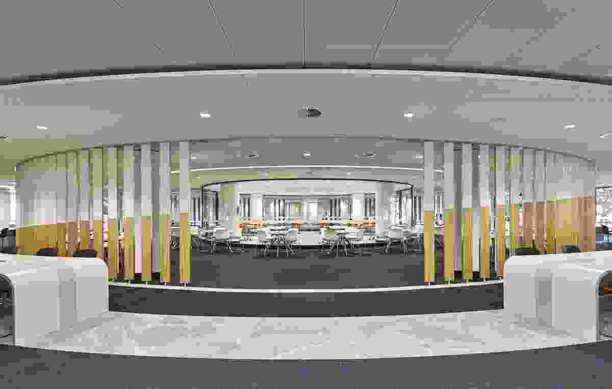 Ground Floor Reid Library Renovation by Schin Architects.