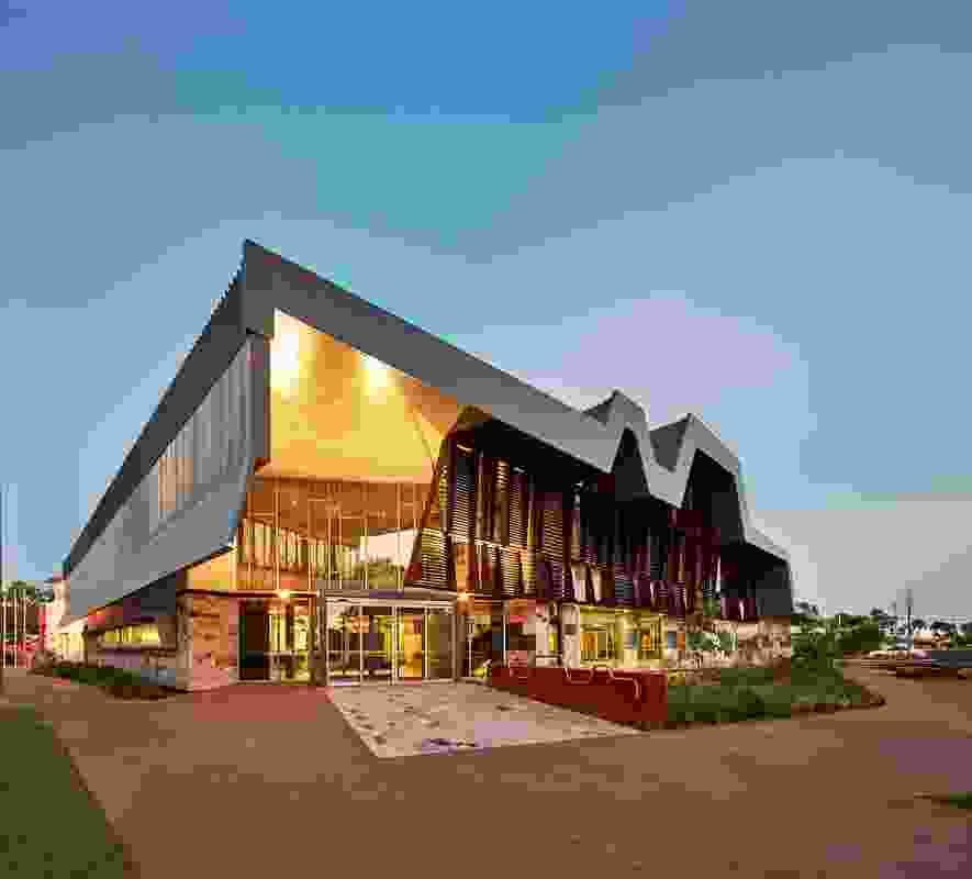 The New Kununurra Courthouse serves the small town of Kununurra in the Kimberley region of Western Australia.