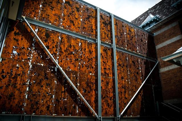 Webber House Walkway Screen by Michael Kennedy.