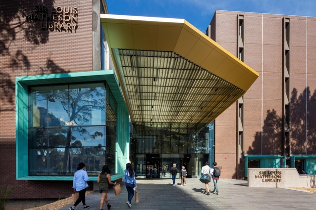 Sir Louis Matheson Libraryby Cox Architecture, TCL Studio and Peter Elliott Architecture.