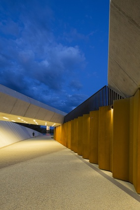 Bowen Place Crossing by Lahz Nimmo Architects.