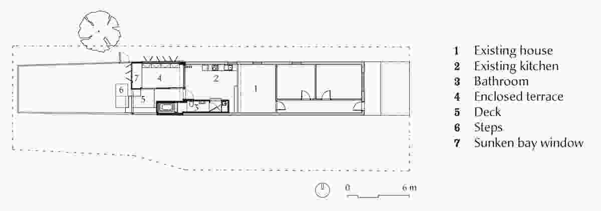 Plan of Bellevue Terrace.