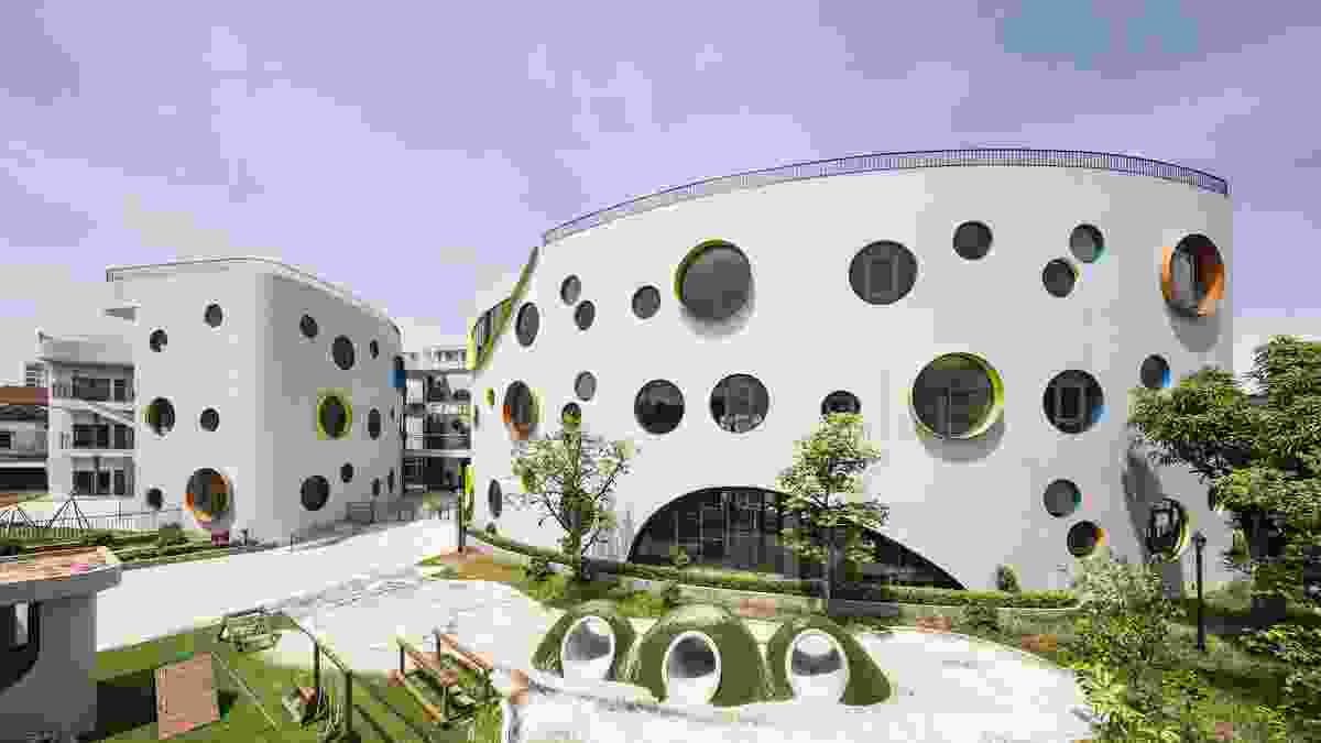 Commendation for Educational Architecture: Eco Kindi (Vietnam) – LAVA (Laboratory for Visionary Architecture) with Module K.