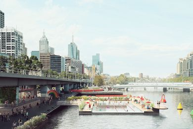 Concept design for Yarra Pool by Studio Octopi.