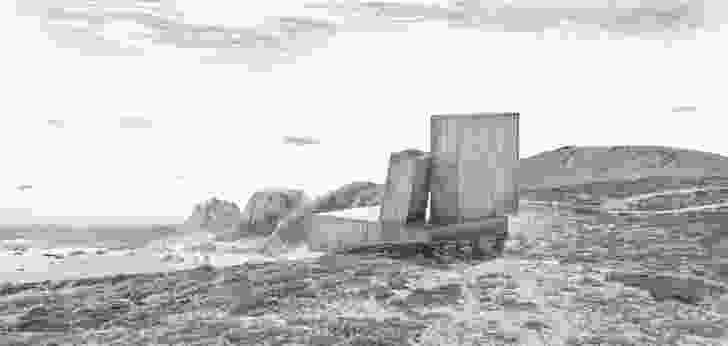 Ocho Quebradas (Eight Ravines) House by Elemental.