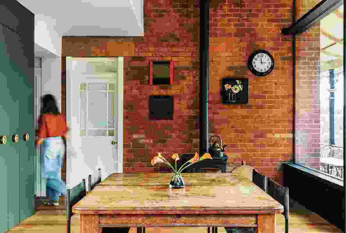 The rich textures and deep colours are reminiscent of a nineteenth-century still life painting. Artwork (L-R): Tim Burns, Donna Lougher.