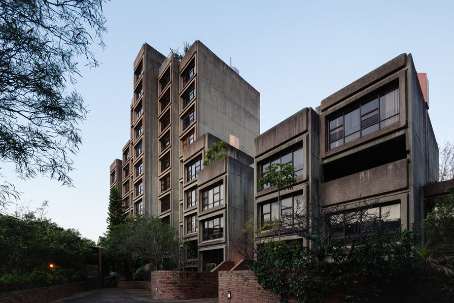 Sirius building by Tao Gofers, 1979.