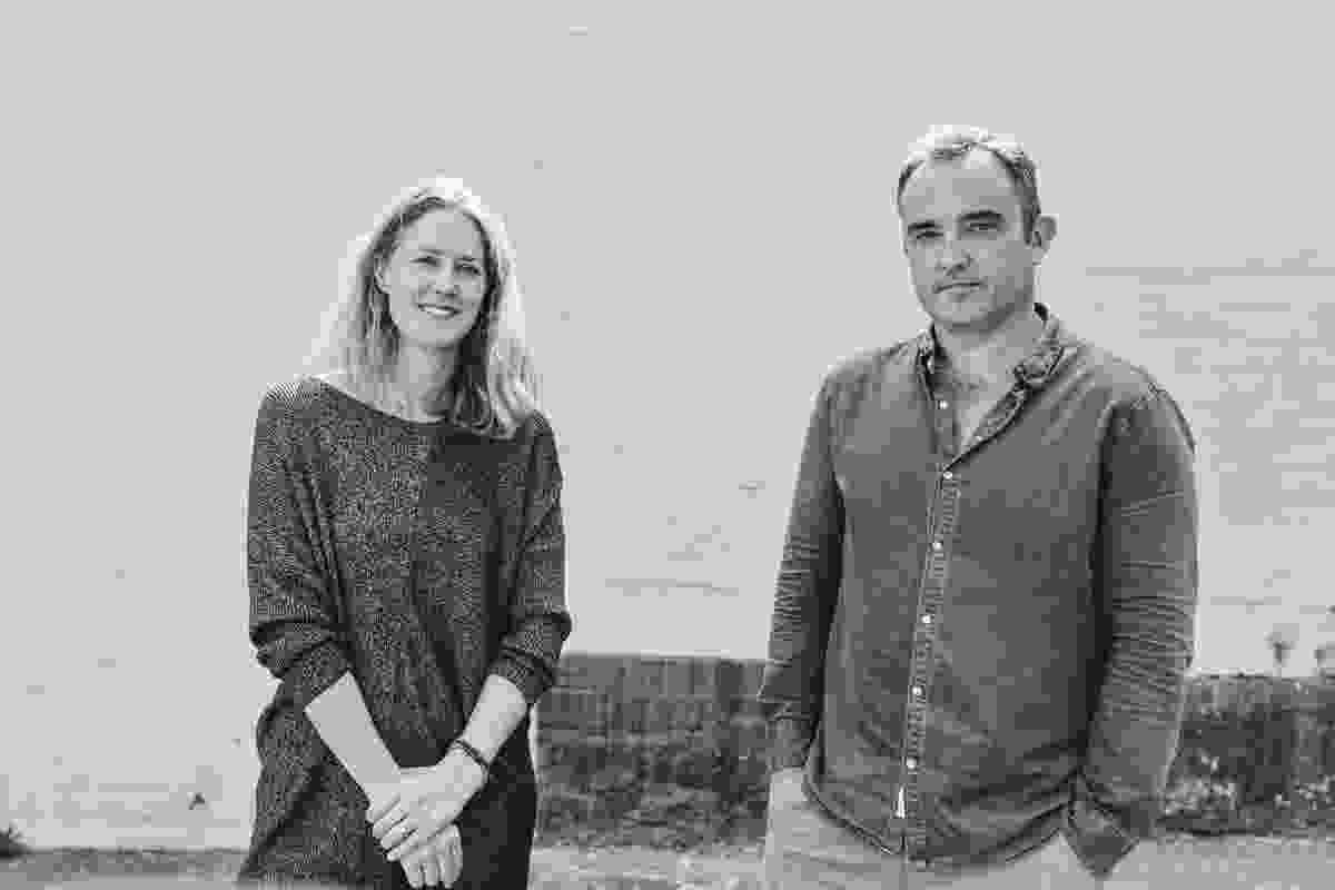 Emili Fox and Conrad Johnston, directors of Sydney-based practice Fox Johnston.
