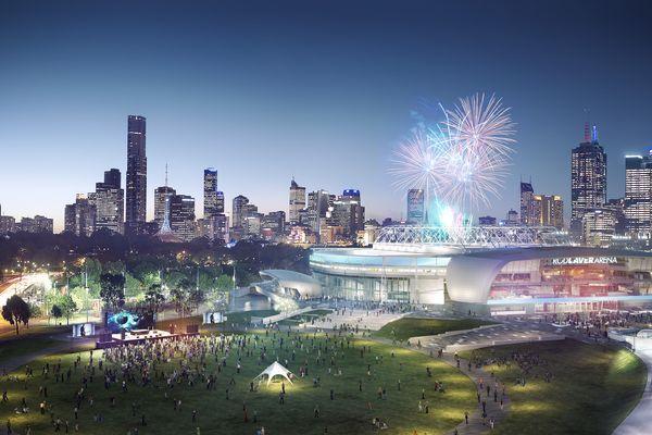 The Rod Laver Arena redevelopment by Cox Architecture.