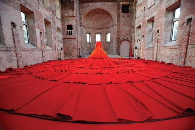 London Design Festival: <em>Reddress</em> by Aamu Song (Company), the Finnish Institute in London.