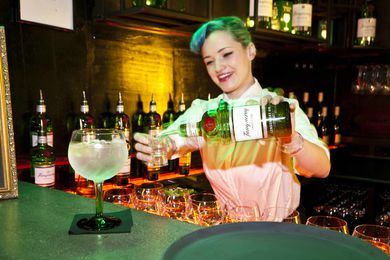Tanqueray & tonic welcomed guests at the Eat-Drink-Design Awards.