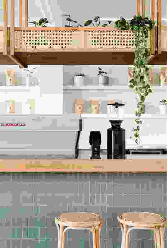 Sisterhood provides a range of seating options, including a coffee bar.