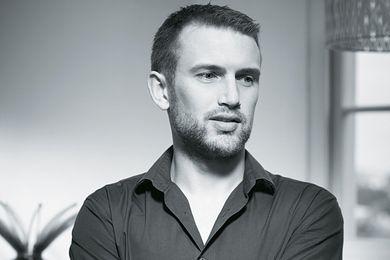 Designer Chris Metcalfe.