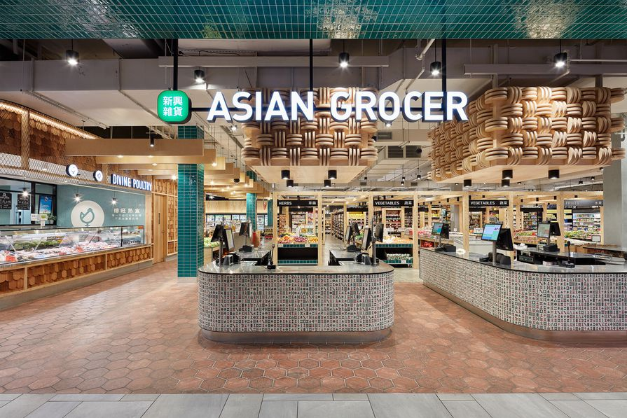 Asian Grocery by T A Square.